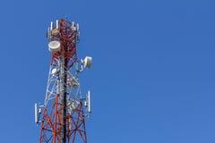 Torre di antenna del telefono cellulare Fotografia Stock