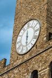 Torre di Arnolfo, della Signoria di Palazzo e Palazzo Vecchio, Piazz Immagini Stock Libere da Diritti