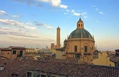 Torre di Asinelli - Bologna Fotografia Stock