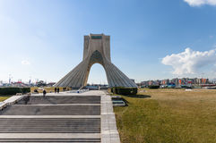 Torre di Azadi a Teheran, Iran Fotografia Stock