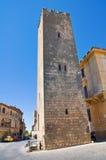 Torre di Barucci. Tarquinia. Il Lazio. L'Italia. Immagine Stock