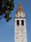 Torre di Basilica Di Aquileia fotografia stock libera da diritti