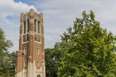Torre di Beaumont all'università dello stato del Michigan Immagini Stock
