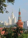 Torre di Beklemishevsky (Moskvoretsk) Fotografie Stock