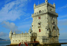 Torre di Belém Fotografie Stock
