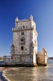 Torre di Belém, Lisbona, Portogallo Immagini Stock