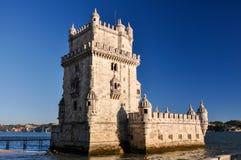 Torre di Belém, Lisbona, Portogallo Immagini Stock Libere da Diritti