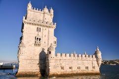 Torre di Belém, Lisbona, Portogallo Fotografia Stock Libera da Diritti