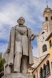Torre di bel e statua 3 Immagini Stock Libere da Diritti