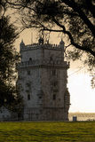 Torre di Belem, Lisbona, Portogallo Immagini Stock Libere da Diritti