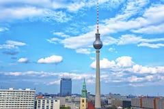 Torre di Berlino TV a Berlino in Germania Fotografie Stock
