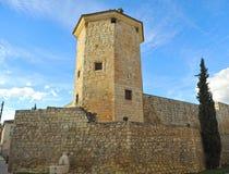 Torre di Boabdil a provincia di Lucena, Cordova, Andalusia, Spagna Fotografia Stock Libera da Diritti