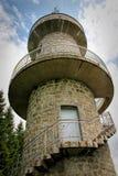 Torre di Brend sulla montagna di Brend vicino a Furtwangen nella foresta nera, Germania Fotografia Stock