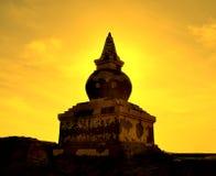 Torre di buddismo Immagini Stock