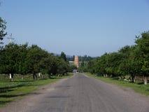 Torre di Burana fotografie stock libere da diritti