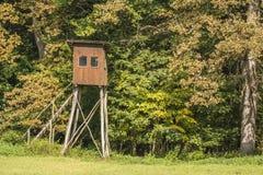 Torre di caccia Immagini Stock Libere da Diritti