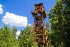 Torre di caccia Fotografie Stock Libere da Diritti
