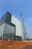 Torre di Canton e rete di radiodiffusione di Canton Fotografia Stock
