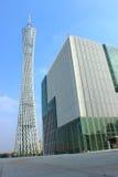 Torre di cantone e rete di radiodiffusione di Canton Fotografia Stock Libera da Diritti
