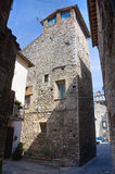 Torre di capitano. Narni. L'Umbria. L'Italia. Fotografia Stock Libera da Diritti