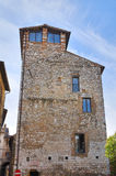 Torre di capitano. Narni. L'Umbria. L'Italia. Immagine Stock