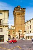 Torre Di Castello στο Βιτσέντσα, παλαιό ιστορικό κτήριο φρουρίων στοκ εικόνες