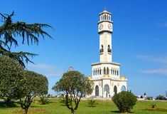Torre di cha-cha-cha a Batumi georgia Fotografie Stock