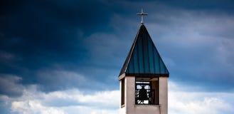 Torre di chiesa Immagini Stock