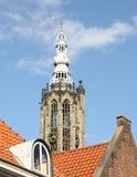 Torre di chiesa a Amersfoort netherlands Immagine Stock Libera da Diritti