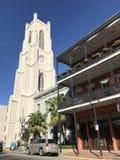 Torre di chiesa del sud Fotografia Stock