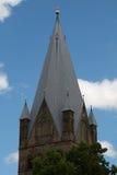 Torre di chiesa di Sankt Patrokli Fotografia Stock