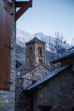 Torre di chiesa di Taull Fotografie Stock Libere da Diritti