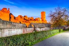 Torre di Chindia, Targoviste, Romania Fotografia Stock