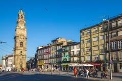 Torre di Clerigos, un campanile della chiesa di Clerigos immagini stock libere da diritti