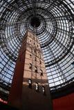 Torre di colpo alla centrale di Melbourne fotografia stock libera da diritti