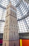 Torre di colpo della gabbia nella centrale di Melbourne, Melbourne Fotografia Stock Libera da Diritti