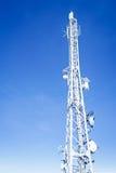 Torre di comunicazione Fotografie Stock