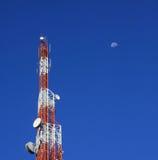 Torre di comunicazione Fotografia Stock