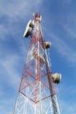 Torre di comunicazione Immagine Stock Libera da Diritti