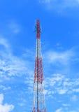 Torre di comunicazione dell'antenna Fotografie Stock
