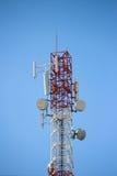 Torre di comunicazioni Immagini Stock