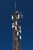 Torre di comunicazioni Fotografie Stock Libere da Diritti