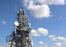 Torre di comunicazioni Fotografia Stock
