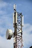 Torre di comunicazioni Fotografia Stock Libera da Diritti