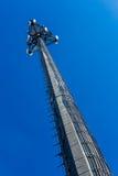Torre di comunicazioni elettroniche specializzata alta tecnologia Immagine Stock