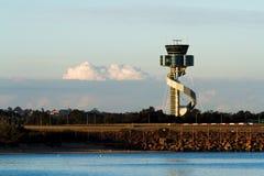 Torre di controllo dell'aeroporto a Sydney, Australia Fotografie Stock