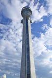 Torre di controllo di traffico dell'aeroporto Fotografia Stock