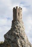 Torre di Devín Fotografia Stock Libera da Diritti