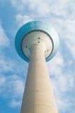 Torre di Dusseldorf il Reno Fotografia Stock