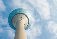 Torre di Dusseldorf il Reno Immagini Stock Libere da Diritti
